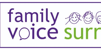 Family Voice Surrey logo